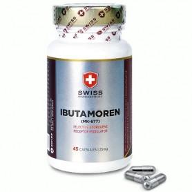 SWISS pharmaceuticals IBUTAMOREN MK-677 45 tabliet