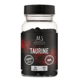 Magnus Supplements - Taurine 180 kapsúl 08/2019