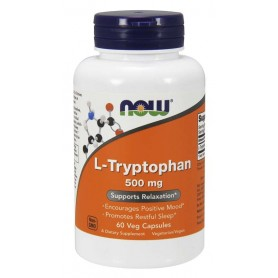 NOW Foods - L-Tryptophan 500 mg Veg 60 tabliet