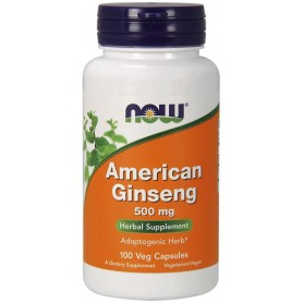 NOW Foods - American Ginseng 500 mg 100 kapsúl