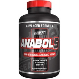 NUTREX Anabol 5 Black 120 tabliet