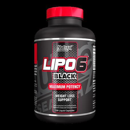 Nutrex - LIPO 6 Black 120tbl