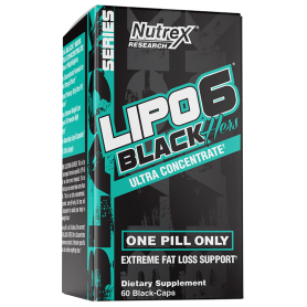 Nutrex - Lipo 6 Black Hers UC USA 60 kapsúl