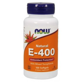 Now foods - Natural E-400 100 kapsúl