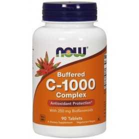 NOW Buffered Vitamin C-1000 Komplex s 250mg 90 tabliet
